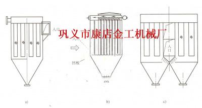 含尘气体浓度高的解决方案示意图