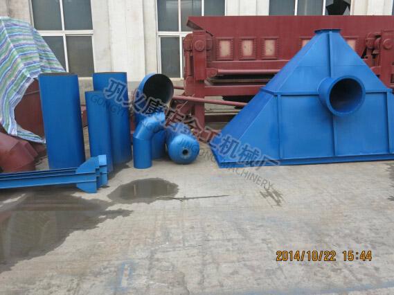 石料厂除尘器发货现场(6)