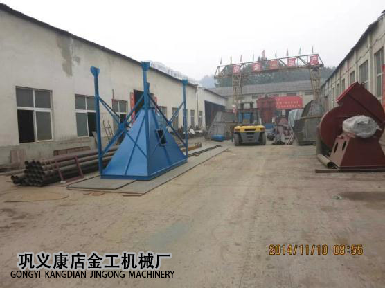 4T锅炉脱硫除尘器发货现场(1)