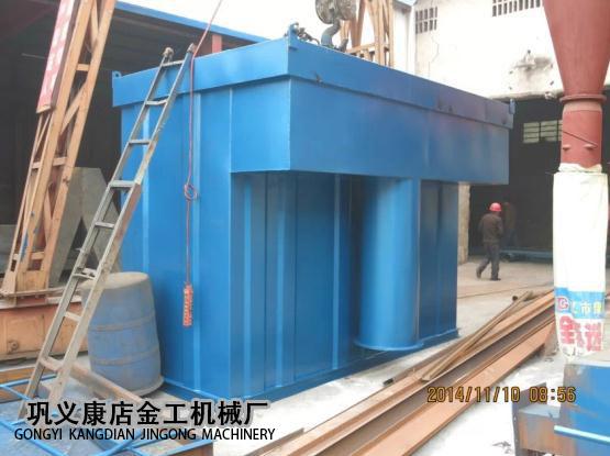 4T锅炉脱硫除尘器发货现场(4)