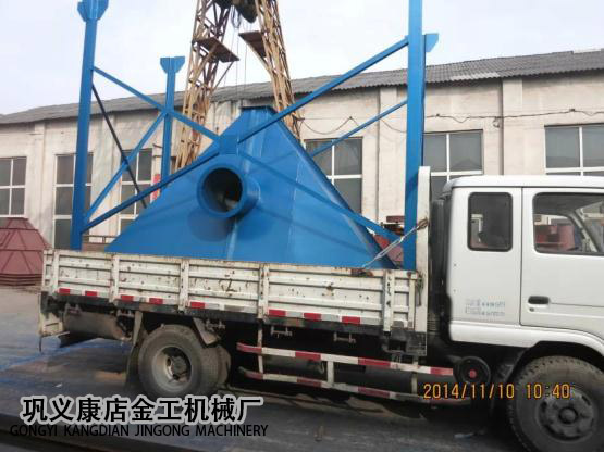 4T锅炉脱硫除尘器发货现场(5)