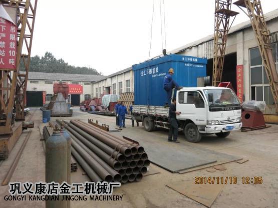 4T锅炉脱硫除尘器发货现场(6)