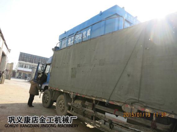 河南三门峡市某公司除尘器发货现场(7)