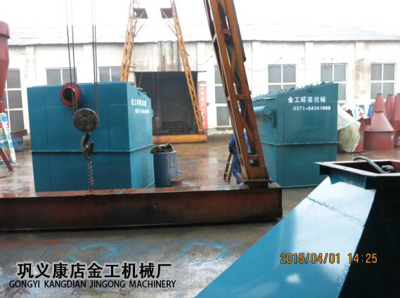宁夏中卫布袋除尘器发货现场(1)