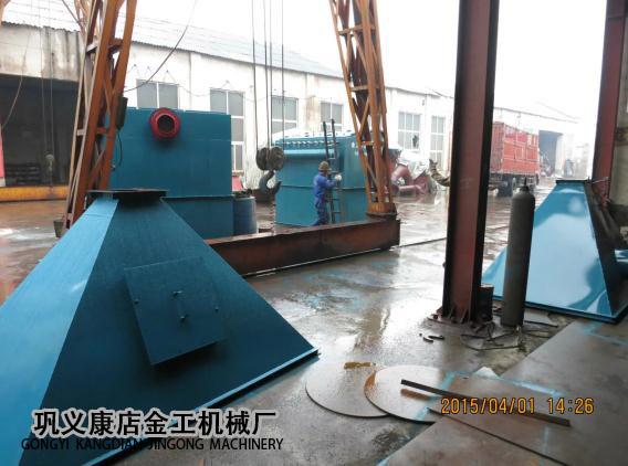 宁夏中卫布袋除尘器发货现场(3)