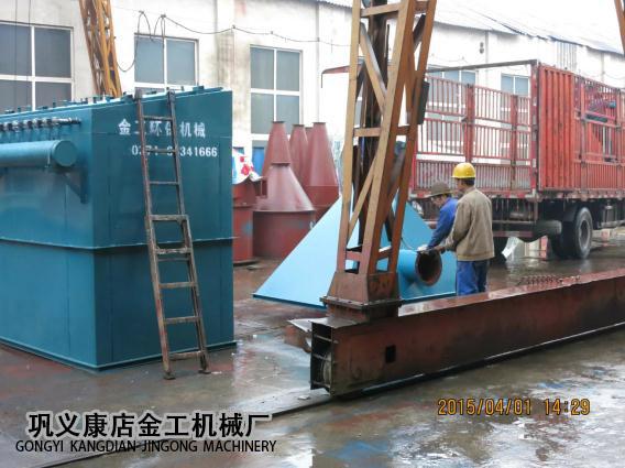 宁夏中卫布袋除尘器发货现场(4)