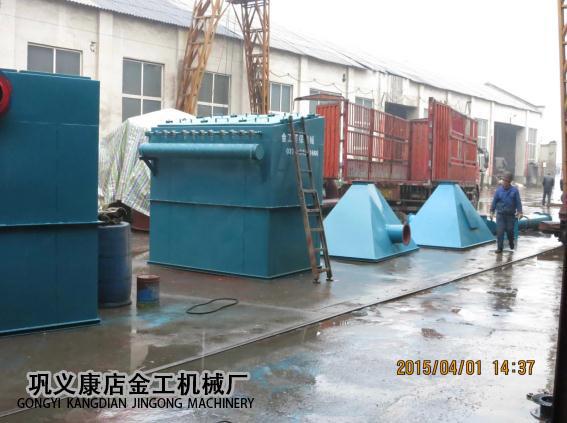 宁夏中卫布袋除尘器发货现场(5)