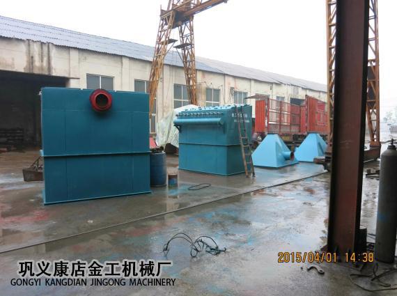 宁夏中卫布袋除尘器发货现场(6)