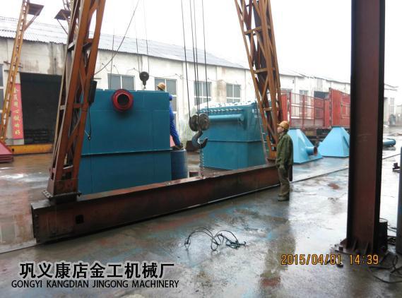 宁夏中卫布袋除尘器发货现场(7)