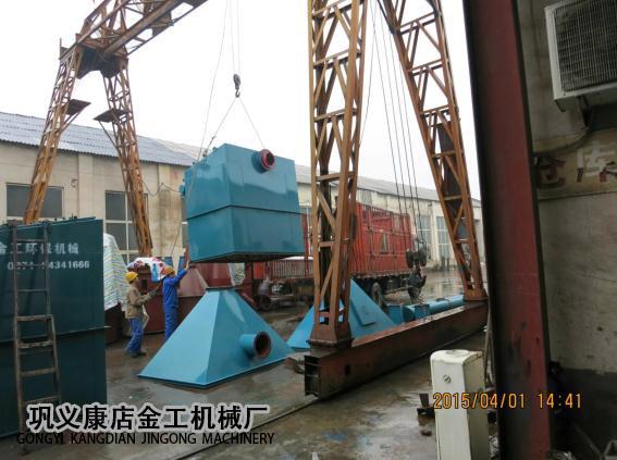 宁夏中卫布袋除尘器发货现场(8)