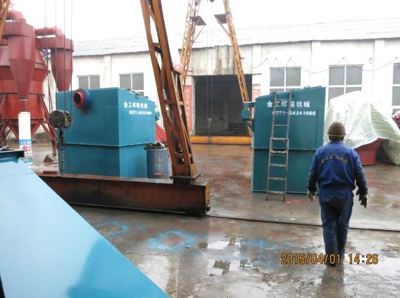 宁夏中卫布袋除尘器发货现场(2)