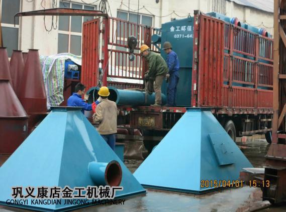 宁夏中卫布袋除尘器发货现场(9)