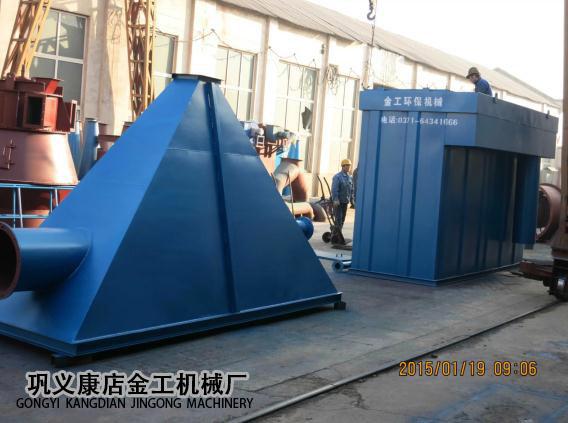 河南三门峡市某公司除尘器发货现场(1)