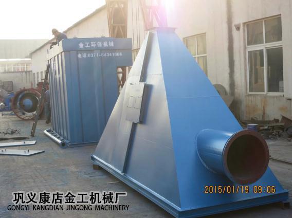 河南三门峡市某公司除尘器发货现场(2)
