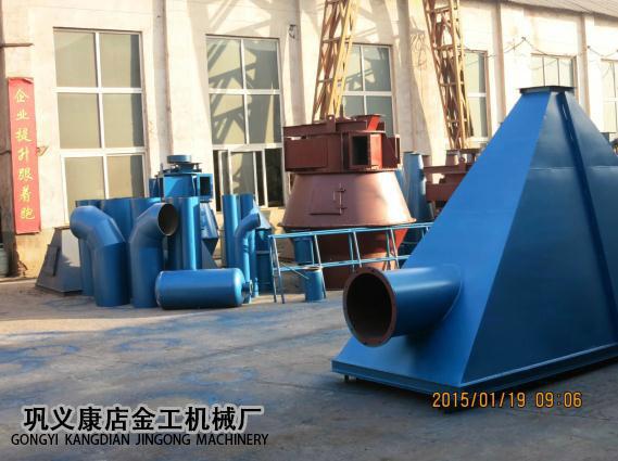 河南三门峡市某公司除尘器发货现场(3)