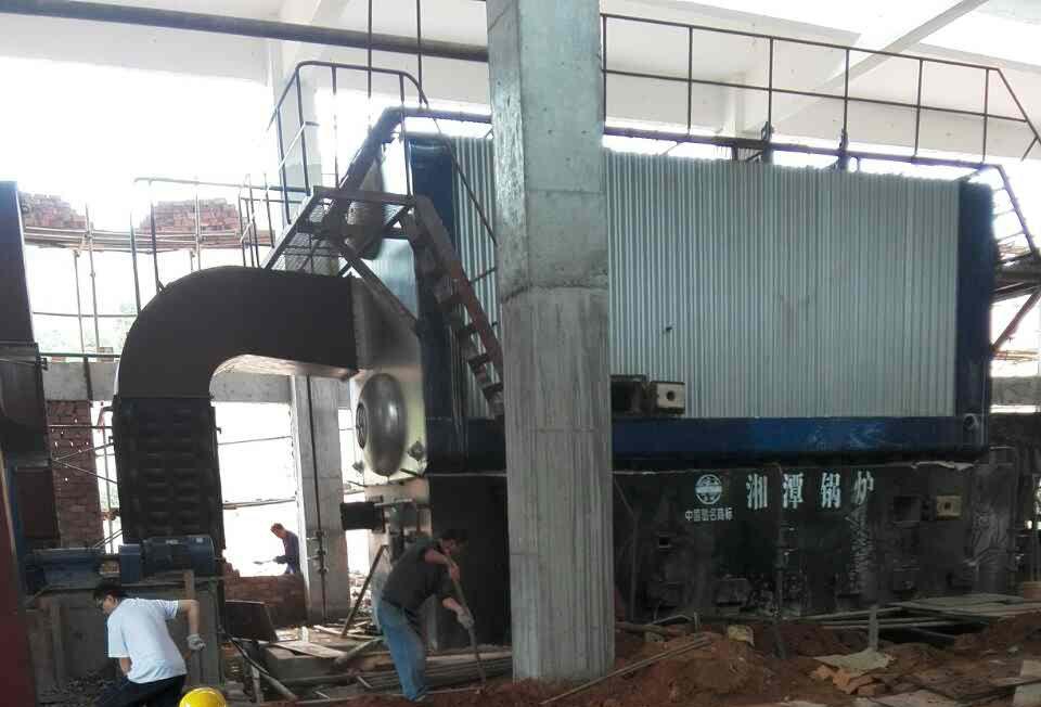 燃煤锅炉脱硫除尘器安装(1)