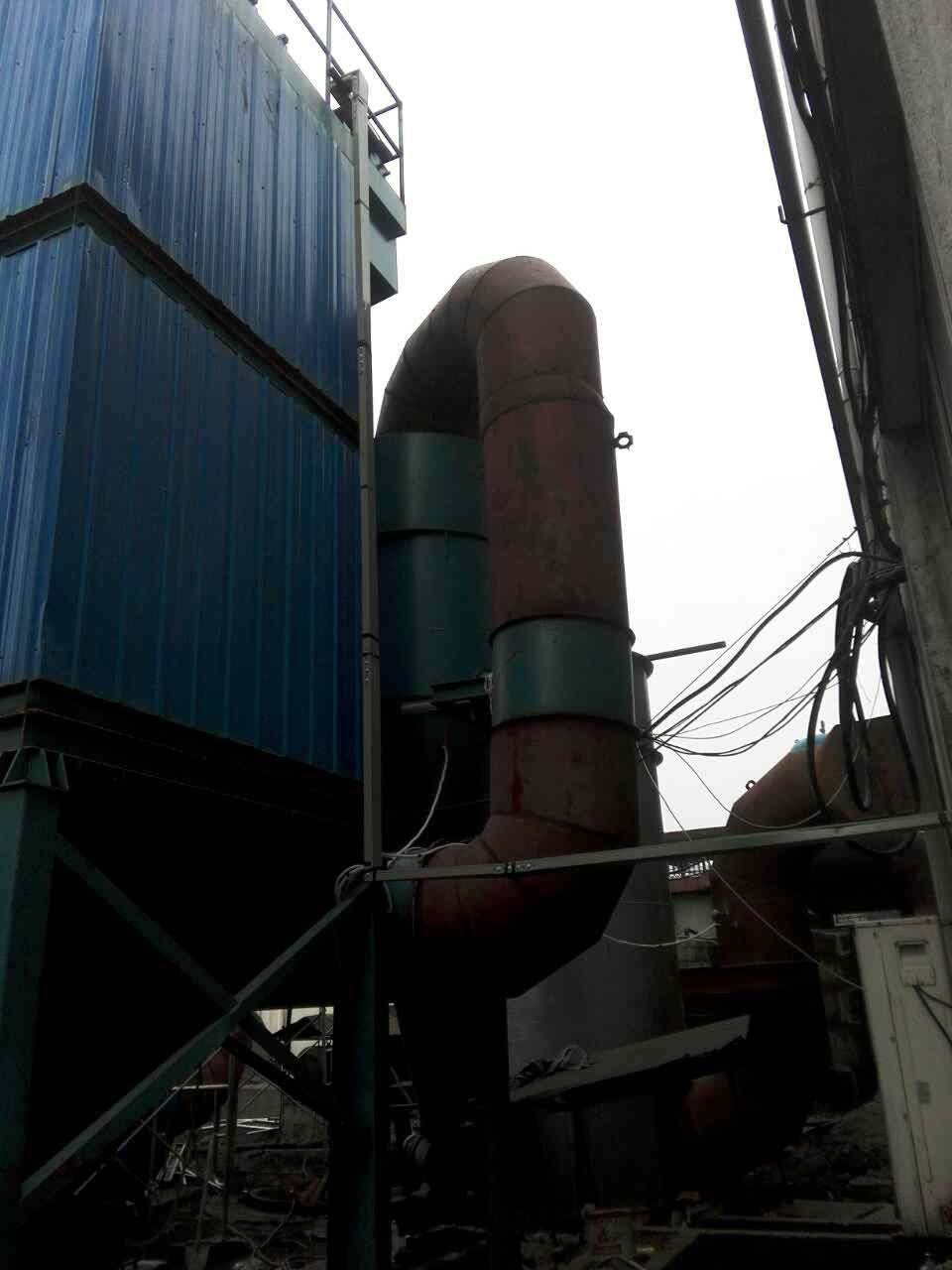 燃煤锅炉脱硫除尘器安装(3)