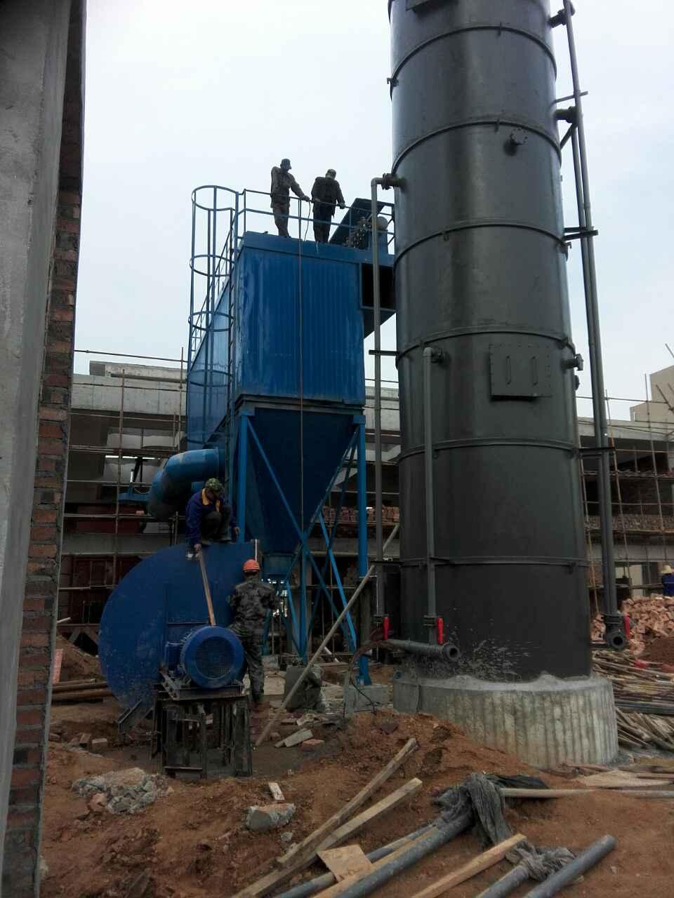 燃煤锅炉脱硫除尘器安装现
