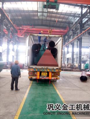 湖南某公司回转窑除尘器发货现场(1)