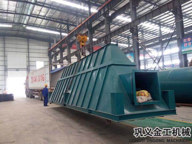 湖南某公司回转窑除尘器发货现场(5)