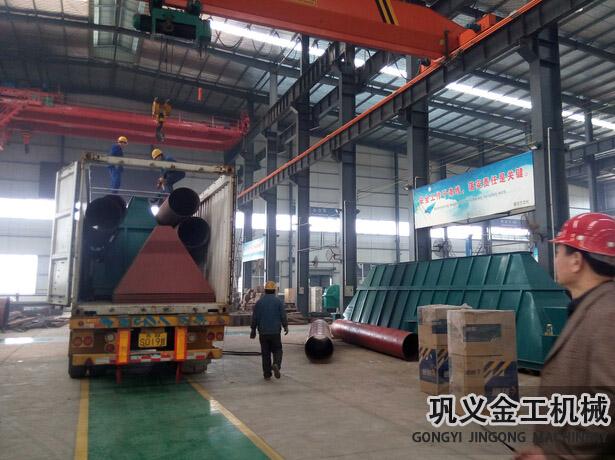 湖南某公司回转窑除尘器发货现场(2)