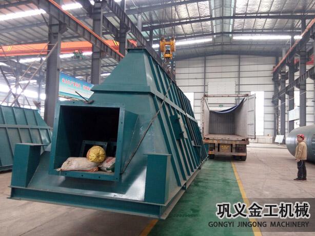 湖南某公司回转窑除尘器发货现场(7)