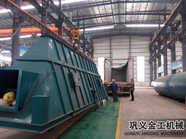 湖南某公司回转窑除尘器发货现场(6)