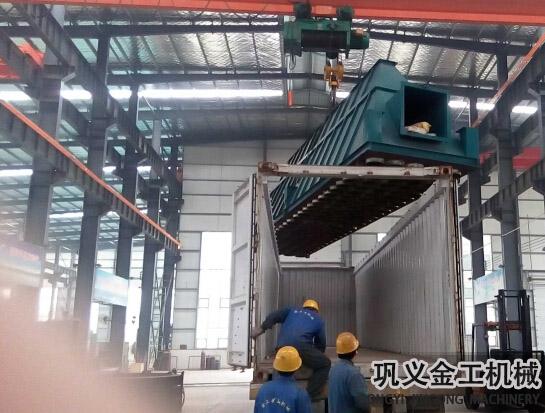湖南某公司回转窑除尘器发货现场(9)
