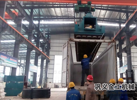 湖南某公司回转窑除尘器发货现场(10)