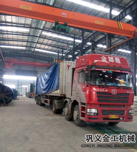 湖南某公司回转窑除尘器发货现场(11)