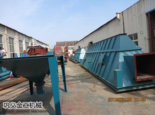 武安单机脉冲除尘器发货现场(2)