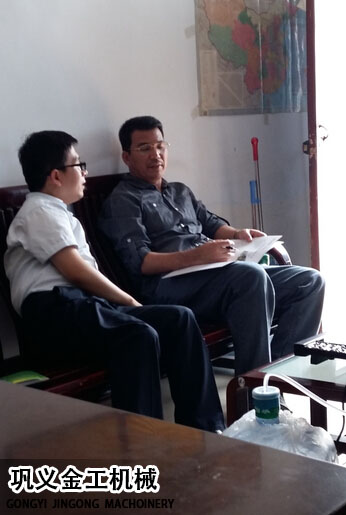 印度尼西亚客户来我厂考察