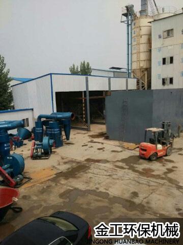 陕西西安机制砂选粉机施工安装现场(1)