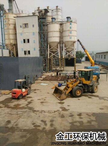 陕西西安机制砂选粉机施工安装现场(2)