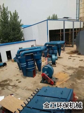 陕西西安机制砂选粉机施工安装现场(3)