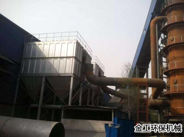 宁煤炉除尘器客户使用现场(1)
