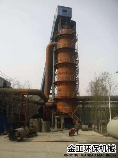 宁煤炉除尘器客户使用现场(2)