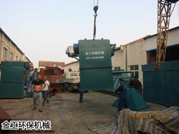 义马单机袋式/布袋除尘器发货现场(4)
