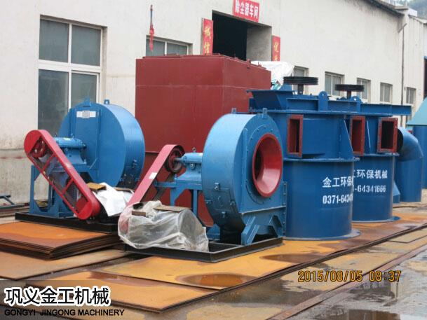 陕西西安陈总选粉机和除尘器发货现场(3)