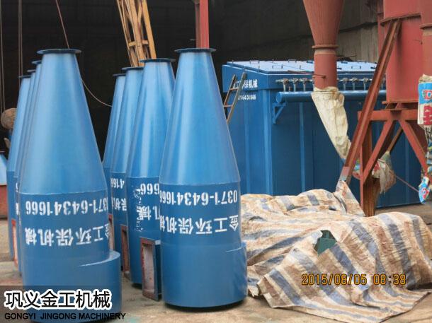 陕西西安陈总选粉机和除尘器发货现场(6)