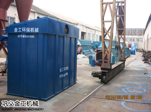 陕西西安陈总选粉机和除尘器发货现场(7)