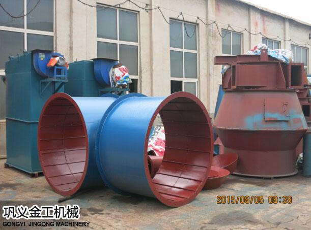 陕西西安陈总选粉机和除尘器发货现场(8)