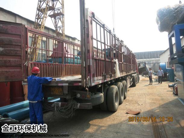 湖北武汉沈先生除尘器、选粉机发货现场(4)