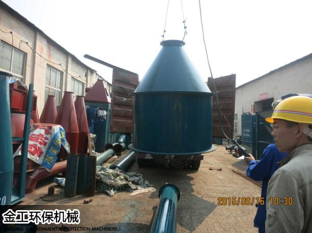 湖北武汉沈先生除尘器、选粉机发货现场(5)