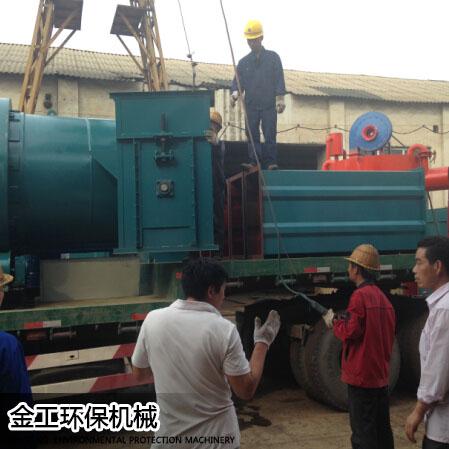 湖北武汉沈先生烘干机和除尘器发货现场