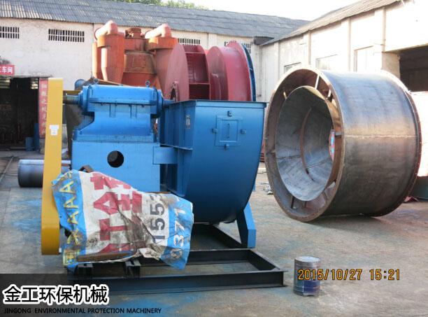 河南新密王先生时产8吨砂石选粉机生产现场(3)