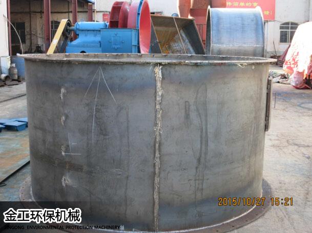 河南新密王先生时产8吨砂石选粉机生产现场(2)