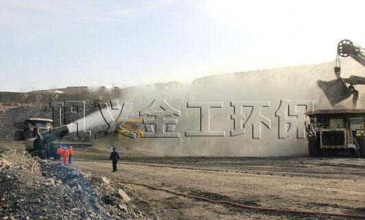 采石场/煤矿喷雾除尘设备