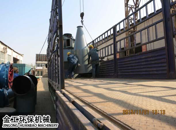 中科机械大型选粉机发货现场(4)
