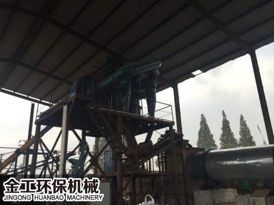 沥青生产线选粉机、除尘器应用案例